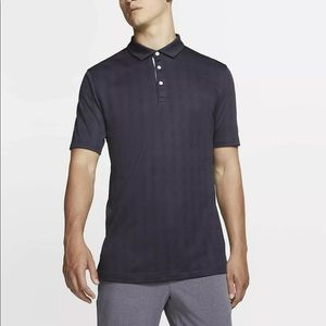 Nike Men's Plaid Player Golf Polo Shirt Size Med